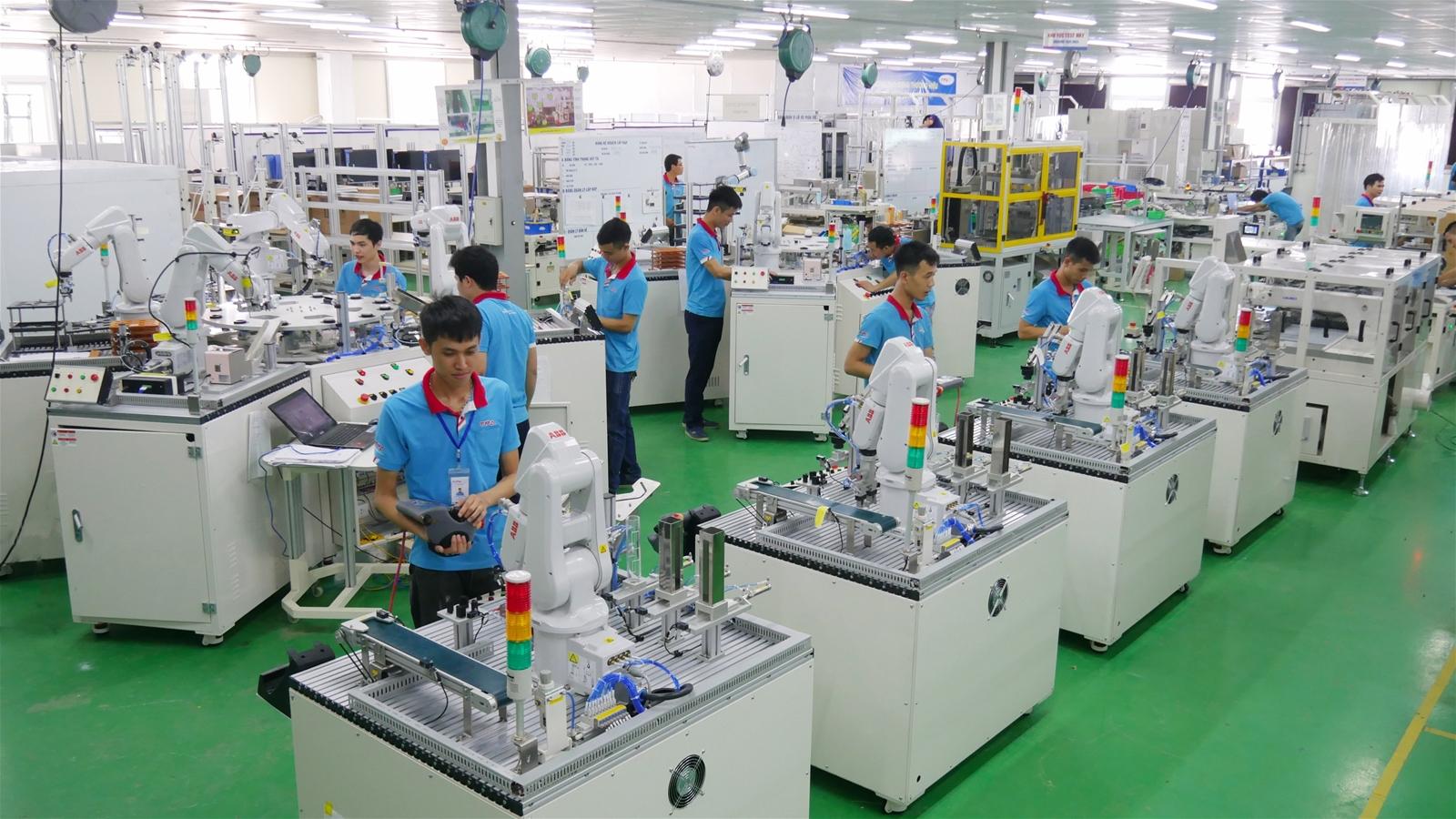 Khu vực sản xuất các sản phẩm công nghiệp của TPA