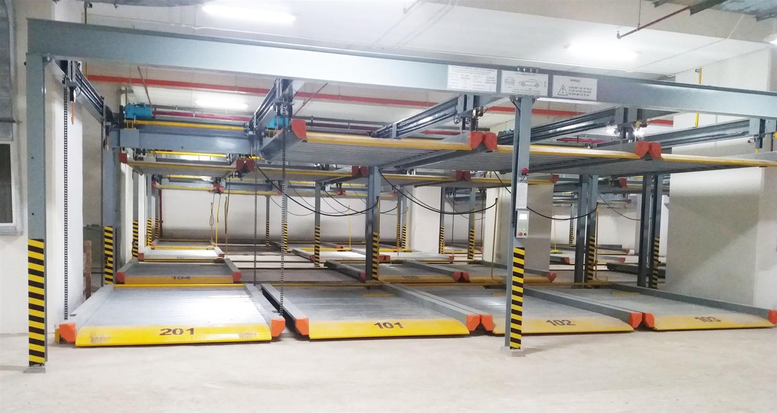 TPA cung cấp hệ thống bãi đỗ xe tự động cho mọi công trình