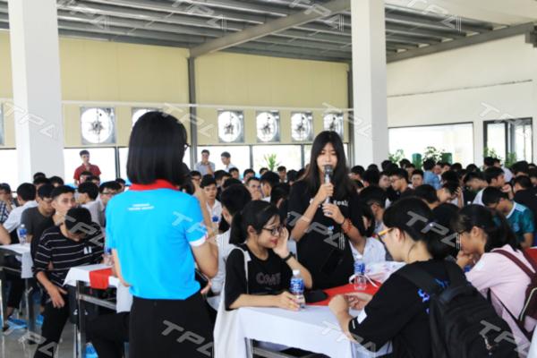 Hình ảnh tại buổitrao đổi về định hướng và nhu cầu về đội ngũ nhân sự của TPA: