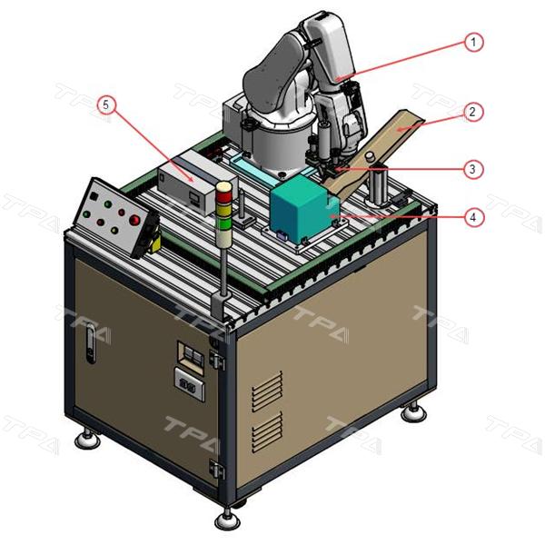 Mô hình trạm robot cấp vít