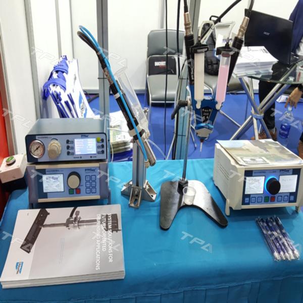 Hình ảnh sản phẩm Eco- Duo dispenser tại triển lãm